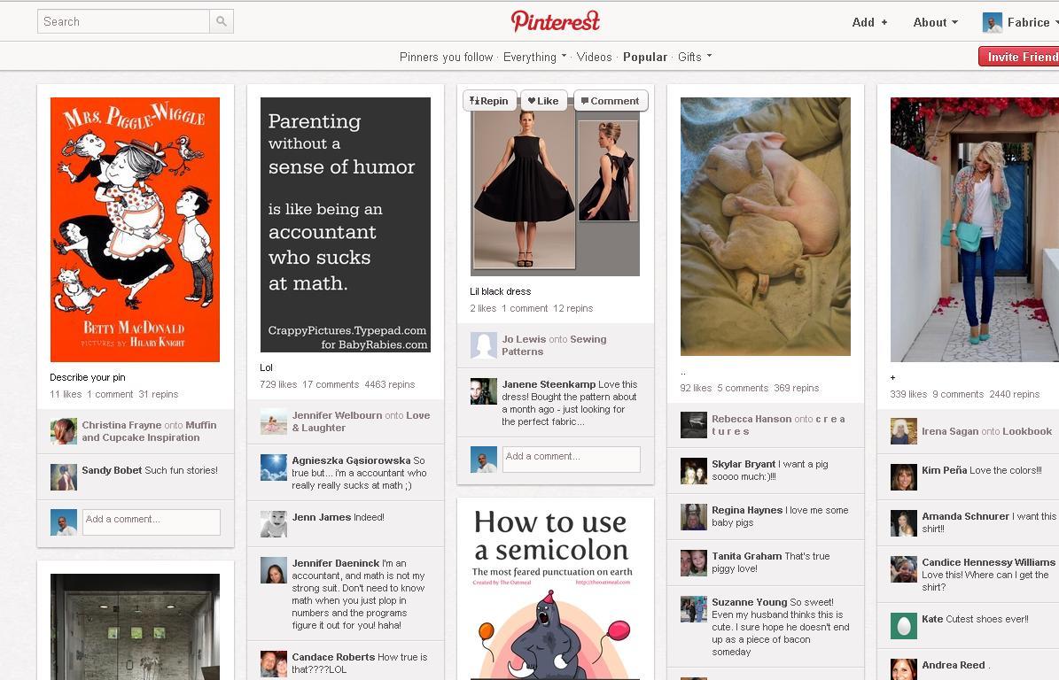 Pinterest, le nouveau réseao socia