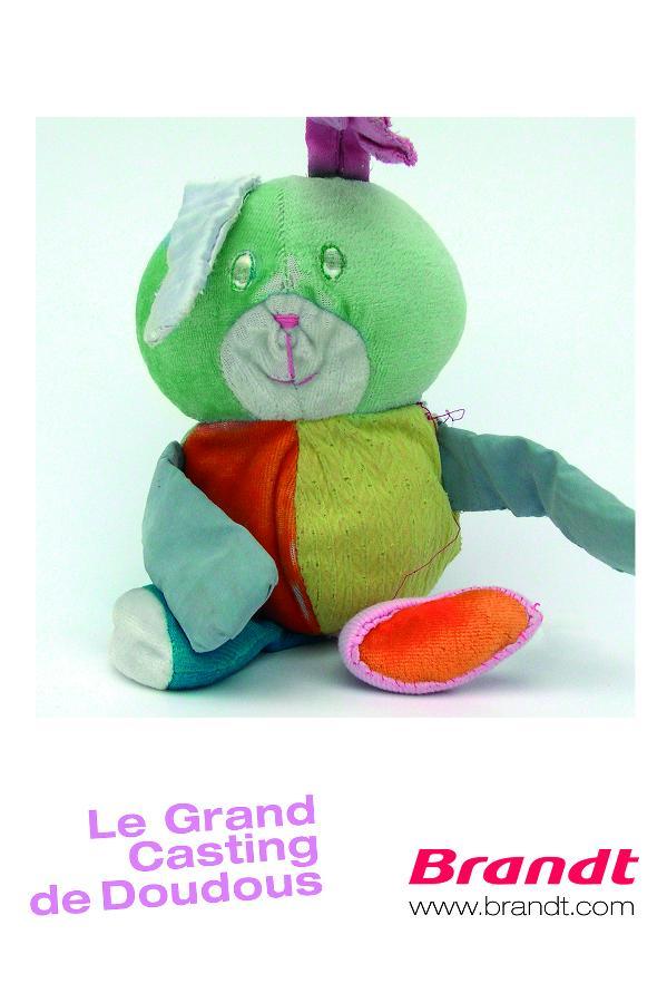 """Casting de """"doudous"""" pour la prochaine pub de Brandt"""