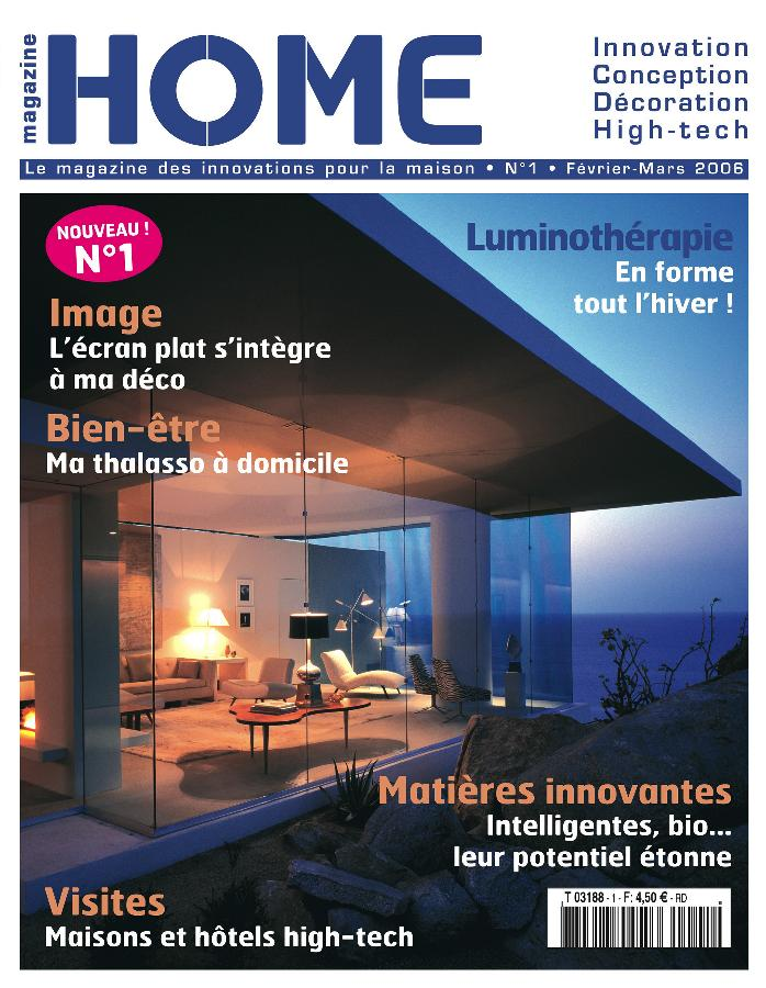 home magazine fait son entr e en kiosque. Black Bedroom Furniture Sets. Home Design Ideas