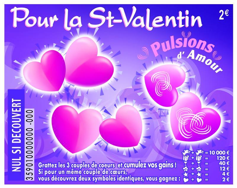 La Française des Jeux a choisi Extrême Design pour la Saint-Valentin