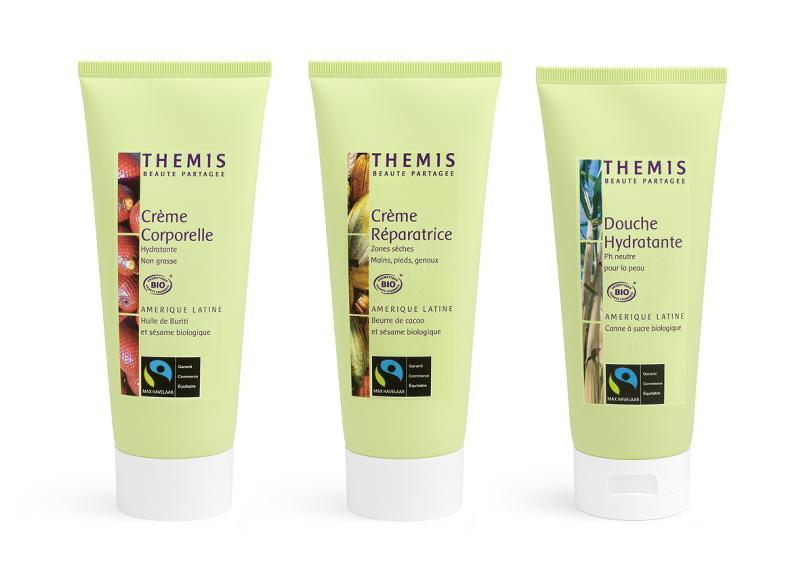 Une première ligne de cosmétique garantie commerce équitable