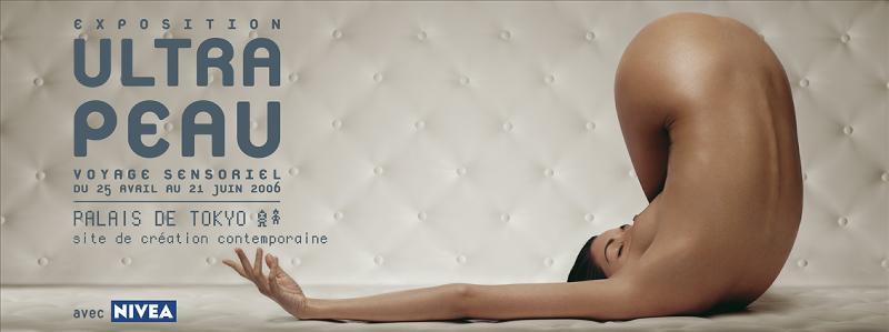 Nivea expose la peau sur toutes les coutures