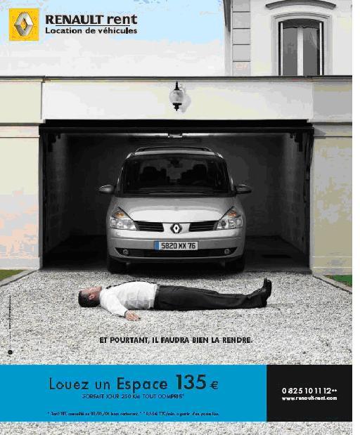 Renault Rent joue sur la corde sensible