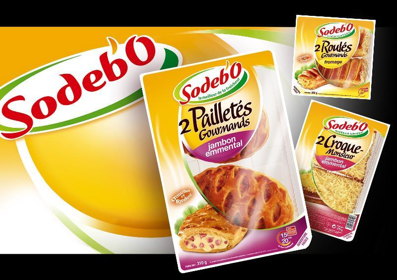 Nouveau look pour Sodebo