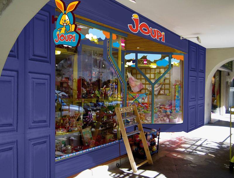 Joupi revoit son concept de magasin
