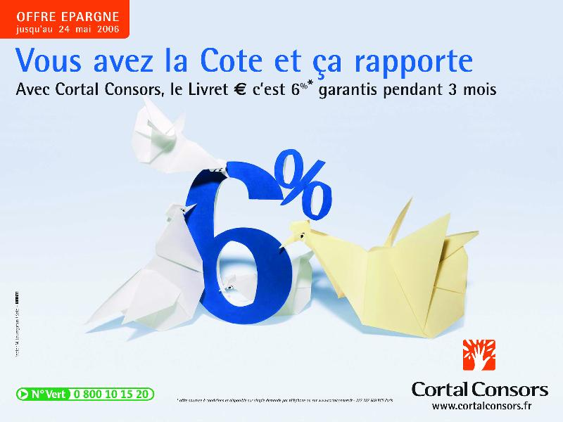 Cortal Consors communique sur ses services