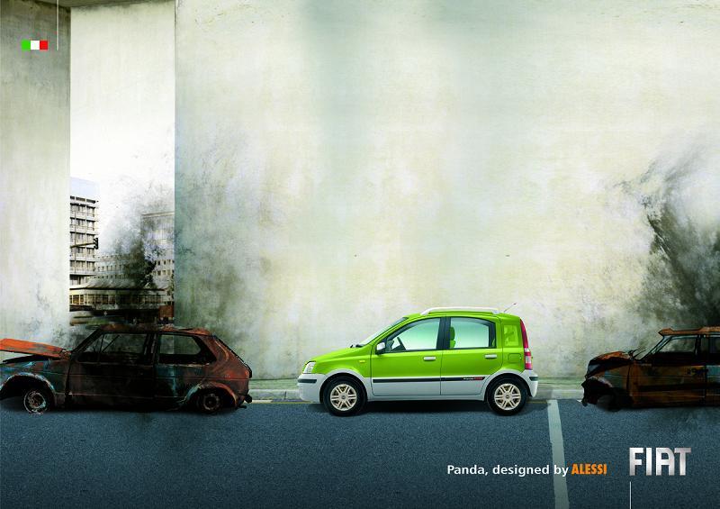 Fiat Panda Alessi s'inspire des émeutes anti-CPE