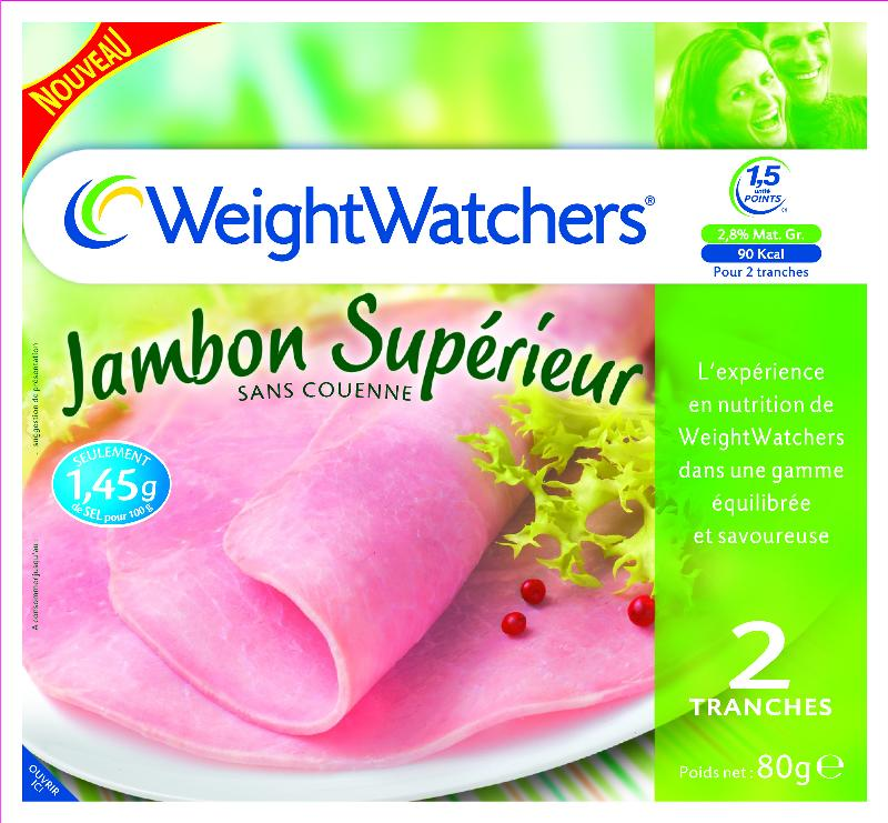 Weight Watchers se met à la charcuterie allégée avec Jean Caby