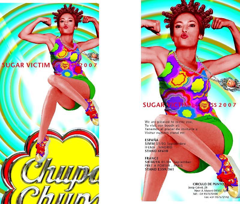 Chupa Chups lance sa ligne de vêtements