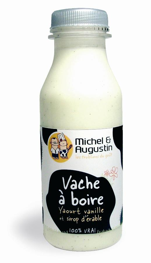 Michel et Augustin met sur le marché  la 'Vache à boire'