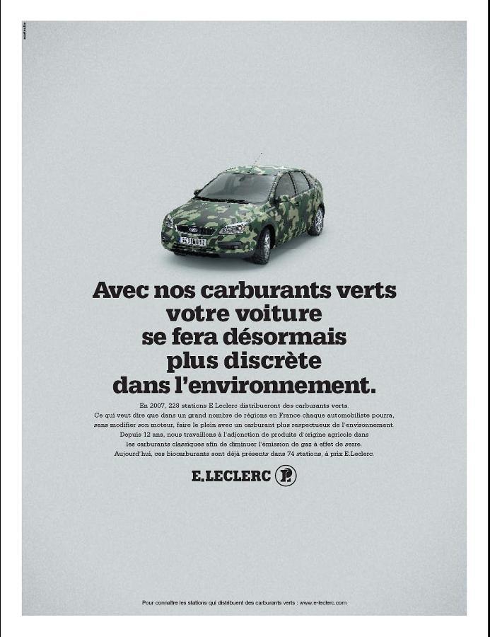 E. Leclerc se bat sur la promotion du carburant vert