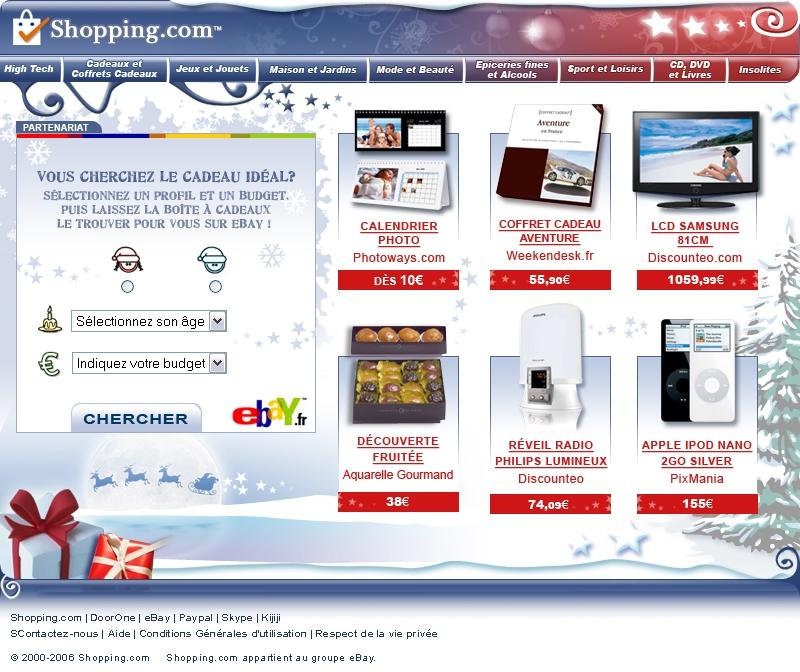 Shopping.com prépare les fêtes de fin d'année avec fetedushopping.com