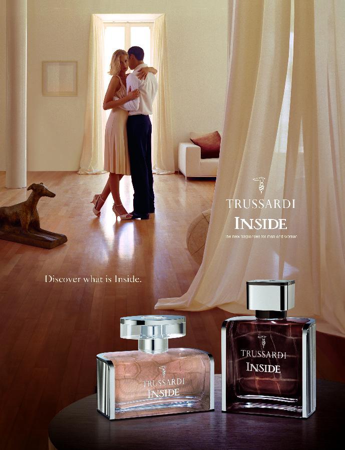 LM Y&R se parfume en Trussardi