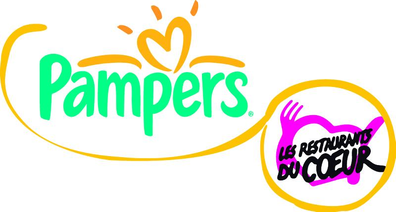 Pampers s'allie aux Restos du Coeur