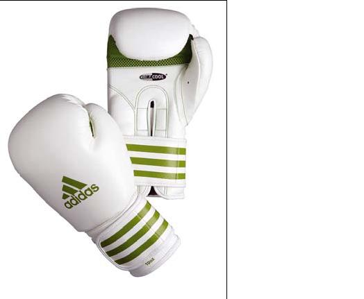 Adidas monte sur le ring