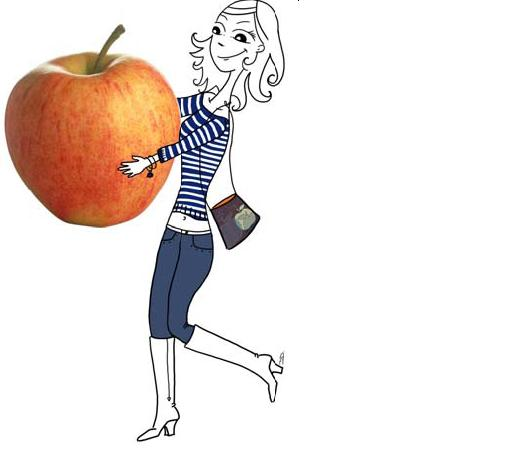 La pomme veut prendre un coup de jeune