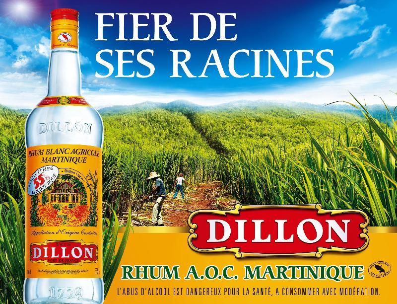 Le rhum Dillon affiche ses origines