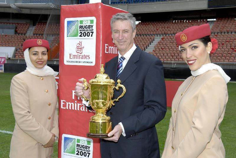 Emirates devient la compagnie aérienne de la Coupe du Monde de Rugby