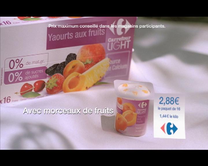 La nutrition au coeur des nouveaux spots publicitaires des hypermarchés Carrefour