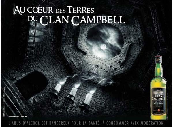 Nouvelle saga publicitaire et nouveau packaging pour Clan Campbell