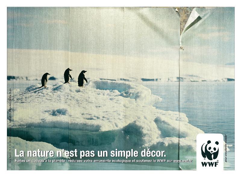 Le WWF en campagne pour la défense de l'environnement