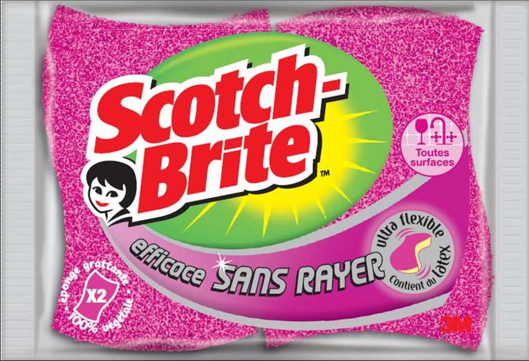 Scotch-Brite change de peau