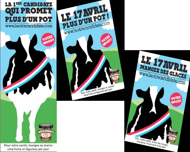 Ben & Jerry's part en campagne