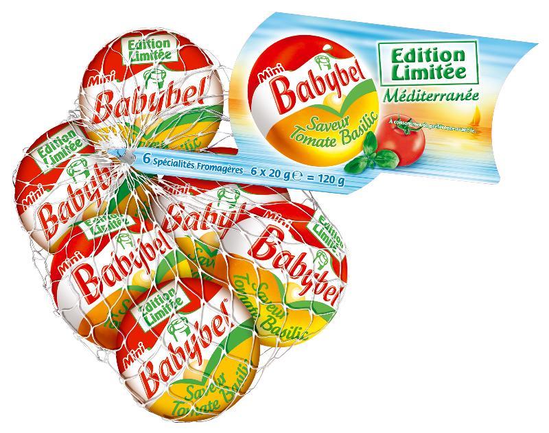 Mini Babybel adopte la saveur Tomate-Basilic