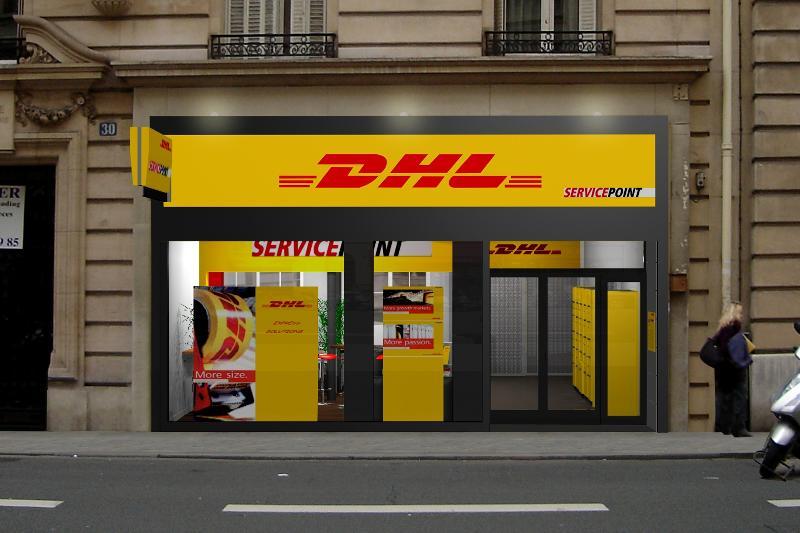 DHL ouvre une nouvelle boutique à Paris