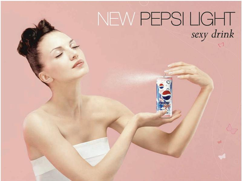 Pepsi Light affiche son côté glamour