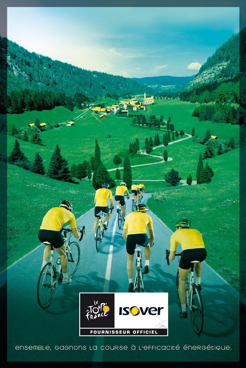 Isover sur le Tour de France