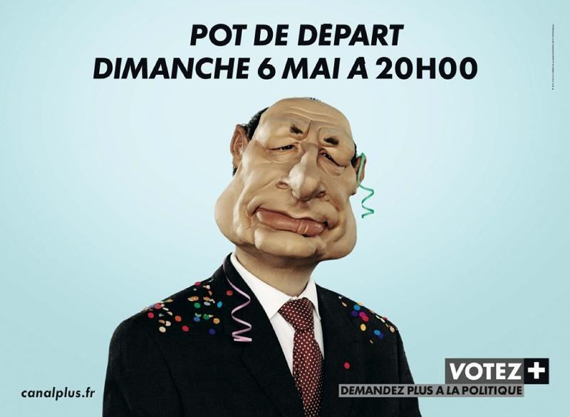 Canal + remporte le Grand prix de l'Affichage 2007