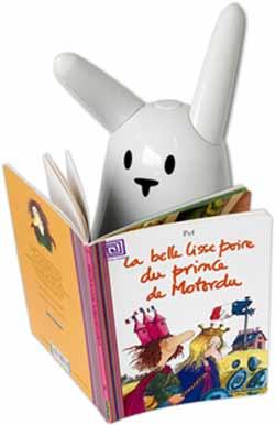 Le lapin Nabaztag sait lire !