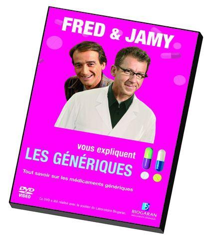 Fred et Jamy font campagne pour les génériques