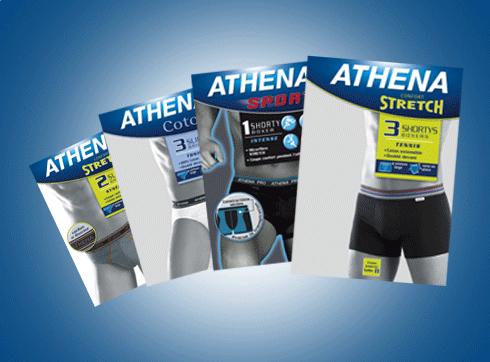 Team Créatif s'occupe de la refonte de la gamme masculine d'Athena