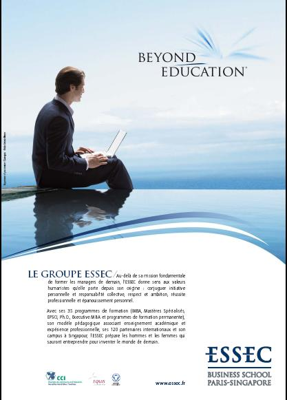 L'Essec change de signature