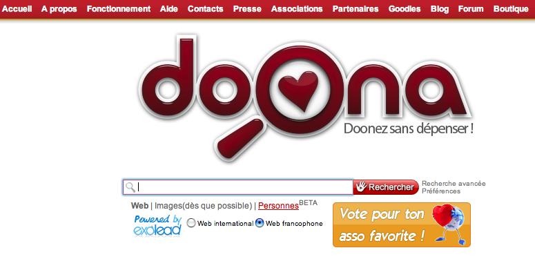 Doona, un moteur de recherche humanitaire