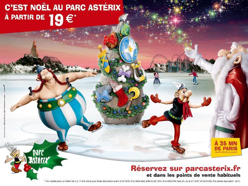 Par Toutatis, Asterix et Obelix fêtent Noël au Parc Asterix
