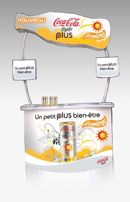 Coca-Cola lance une version light plus