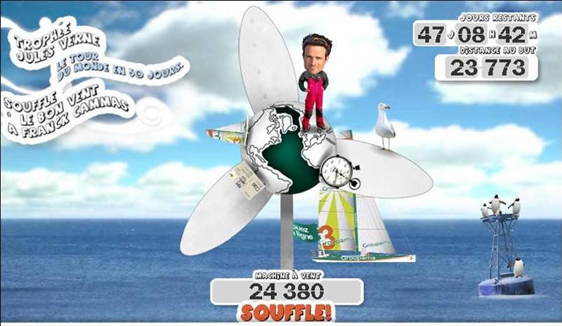 'Du vent pour Cammas' avec Groupama