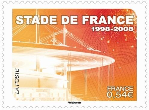 Pour ses 10 ans, le Stade de France s'offre un timbre