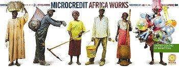 Benetton en campagne pour le micro crédit