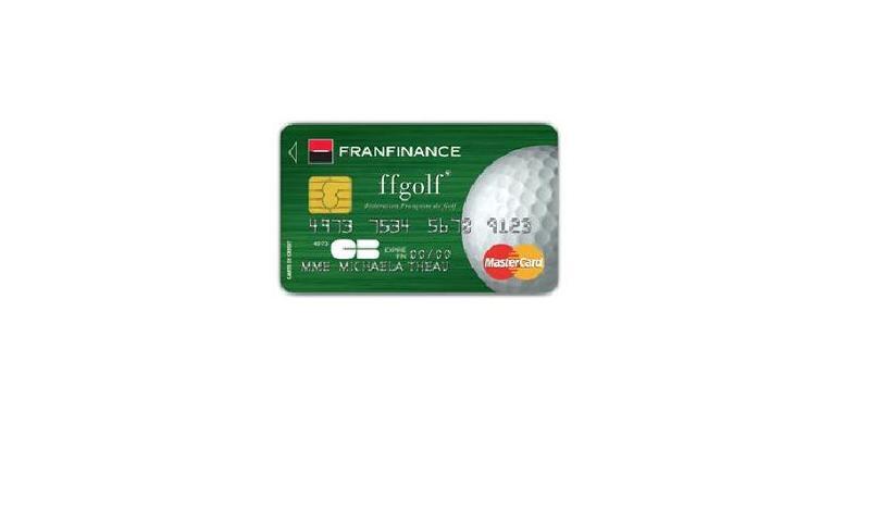 La Fédération française de golf et Franfinance lancent la carte golf