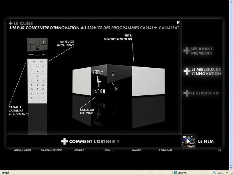 Le nouveau d codeur de canal mis en sc ne sur le net - Nouveau decodeur canalsat 2017 ...