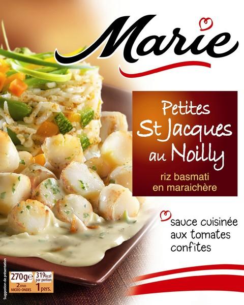 Marie multiplie les innovations produits for Plats cuisines marie