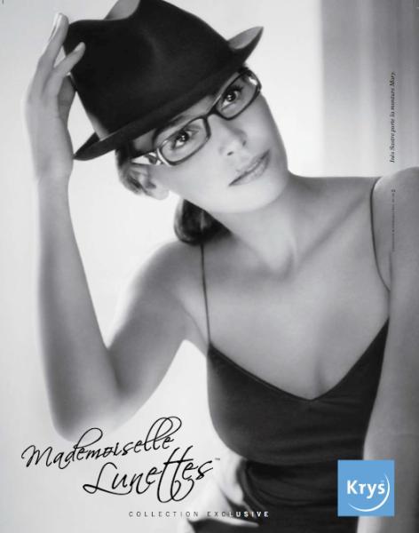 Krys lance Mademoiselle Lunettes d9c5791461a0