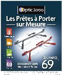Optic 2000 lance les 'Prêtes à Porter sur Mesure'