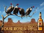 BDDP & Fils en campagne pour Four Roses