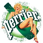Les pin-up Perrier investissent les terrasses