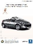 La Peugeot 207 CC illustre son partenariat avec Roland-Garros